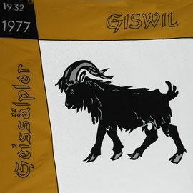 ab 1977 haben die Geissälpler eine neue Fahne