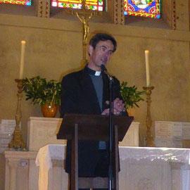 Père Pierre-Antoine Bozo, directeur de l'Archiconfrérie de Saint Christophe et recteur du séminaire Saint Jean Eudes à Caen