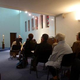 Parmi les témoignages, celui de Soeur Jane de la communauté des Petites Soeurs de Ste Thérèse (maison famille Martin)