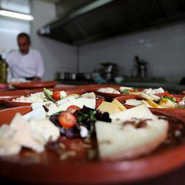 Platos restaurante El Sabil Senda del Oso.