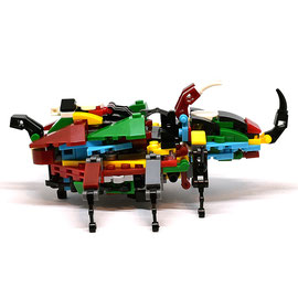 Blocks World Insects World (Giant Beetle/巨大カブト虫)  K32A-Combined