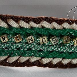 Kingsley, ca. 4 cm breit, bis 4 Farben möglich, standardmäßig ohne Accessoires