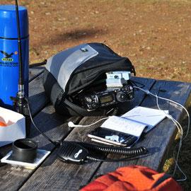 GPO Team - Parco del Serio stazione FT-817 4-1-2013