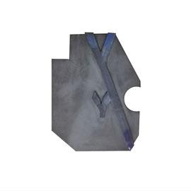 RENAISSANCE 3016. glazed ceramic, 48 x 33 x 4 cm, 2021