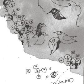 小鳥のおしゃべり