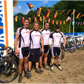 v.l. n.r.: Stefan Lang; Steffen Weyer; Ramon Lenz; Michael Hahn