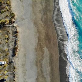 Strand von Diamante, Kalabrien