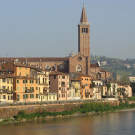 Sur les bords de l'Adige