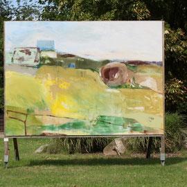 O.T., 2011, Acryl auf Holz, 260 x 360 cm
