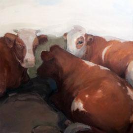 Ohne Titel, 2009/2012, Acryl auf Leinwand, 150 x 120 cm