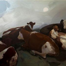 Ohne Titel, 2015, Acryl auf Leinwand, 200 x 300 cm