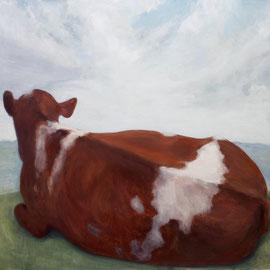 O.T.,2008, Acryl auf Leinwand, 180 x 210 cm
