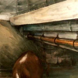 O.T.,2006, Acryl auf Leinwand, 200 x 135 cm