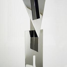 Totem 4 - 2012 - Inox 304 - H78 cm