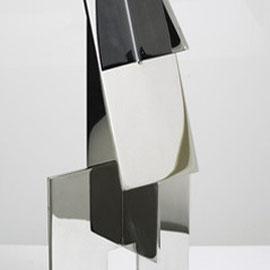Totem 1 - 2012 - Inox 304 - H52 cm