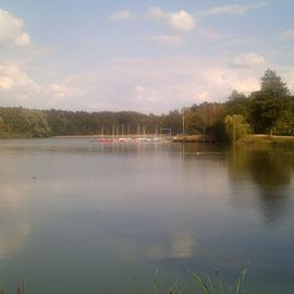 Still und starr ruht der See.