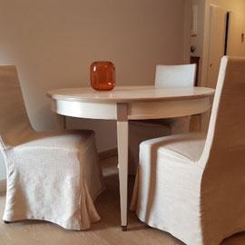 Relooker une table de salon en merisier La Métamorphose du Temps