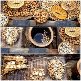Imheißen Schwefelwasser werden Eier und Erdäpfel gekocht und verkauft