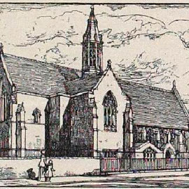 The proposed new church