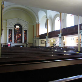 View towards the chancel