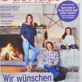 Presseveröffenlichung in der Zeitschrift DAS HAUS im Dezember 2017