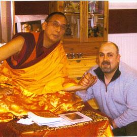 S. H. 13. Kundeling Rinpoche & Rodrigo