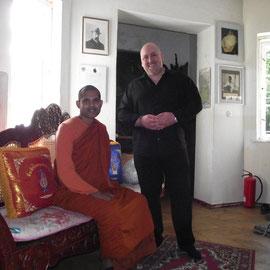 Bhante Dhammananda und Rodrigo
