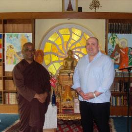 Bhante Dhamma Vijaya & Rodrigo