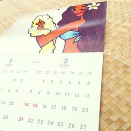 今回はアメリカの祝日に合わせたカレンダーにしました。