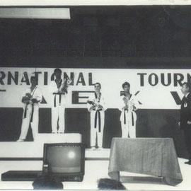 1992 - призёр личного первенства по кйоруги (поединки) Первого Международного тунира по Тхэквондо
