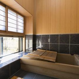嵯峨野古代檜風呂