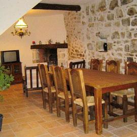 """Salle à manger maison d'hôtes """"Les Figuiers"""""""