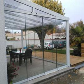 La pergola fermée, un large choix de pergolas de qualité sur mesure pour jardin et terrasse.