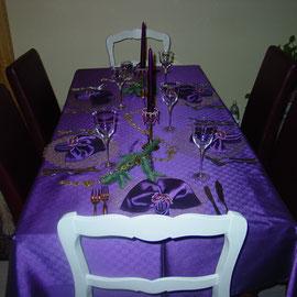 Schön dekorierter Tisch ( wie immer)