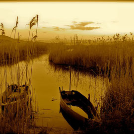 San Feliciano: Boote am Trasimenischen See