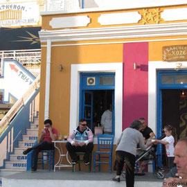 Kafenio an der Platia