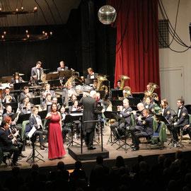 Neujahrskonzert des Bayrischen Polizeiorchesters unter der Leitung von Johannes Mösenbichler - Eichstätt 2018