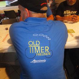 neuer Shirt der Oldtimerfreunde Atzmännig