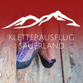 KLETTERAUSFLUG SAUERLAND - sicher Klettern mit der Bergschule Osnabrück