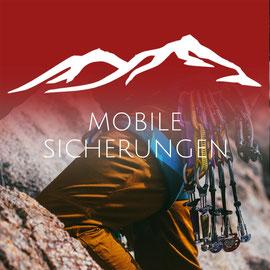 MOBILE SICHERUNGEN - Sicher draussen Klettern mit der Bergschule Osnabrück