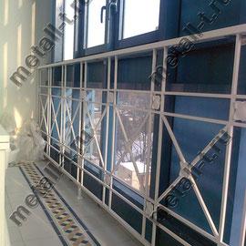 Ограждение для балкона с панорамным остеклением