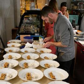 Schlafdinner Acocoon Sleep Project feat. Timo Finkl Kulinarium Dessert