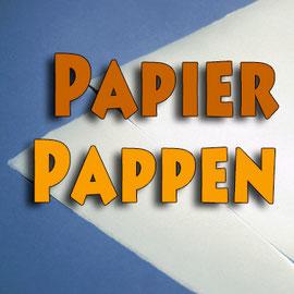 Papier und Pappen