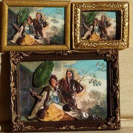 El Quitasol de Goya en 3 tamañops distintos