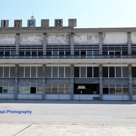 The abandoned airport, on July 14th 2015