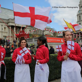 St. George's Day Feast in London. 23/4/16