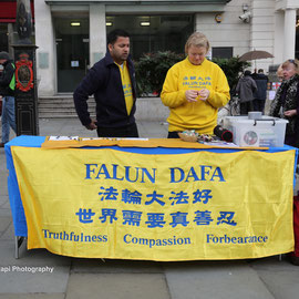 Meditation movement under persecution in China. 23/4/16