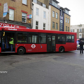 London bus crashes into supermarket in  Camden. Pratt Street  9/1/2016