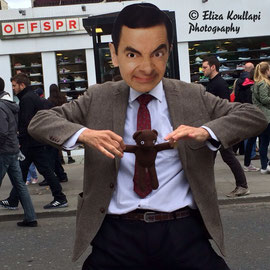 Mr Bean, Camden High Str, May 2014