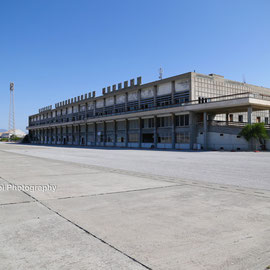 Nicosia International Airport was originally the main airport for Cyprus. Commercial activity ceased following the Turkish invasion of Cyprus in July 1974. The airport site is now used as the headquarters of the United Nations Peacekeeping Force in Cyprus